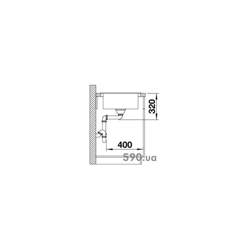 blanco elon xl 6 s 518739 opremacenter. Black Bedroom Furniture Sets. Home Design Ideas