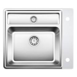 BLANCO STATURA 6-IF CRYSTAL, belo steklo 516101