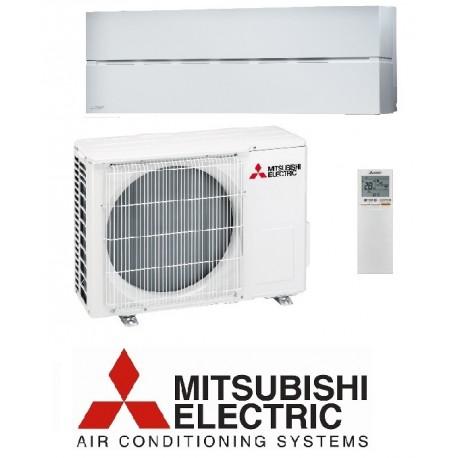 Klimatska naprava Mitsubishi Electric MSZ-LN25VGW/MUZ-LN25VG - z montažo na ključ z nosilnimi konzolami
