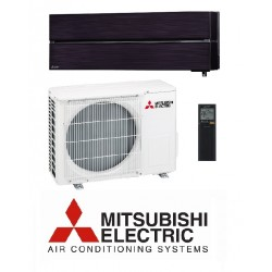 Klimatska naprava MITSUBISHI MSZ-LN35VGB/MUZ-LN35VG Oniks črna + montaža na ključ z nosilnimi konzolami