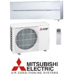 Klimatska naprava MITSUBISHI MSZ-LN25VGHV/MUZ-LN25VGHZ Biserno bela + montaža na ključ z nosilnimi konzolami