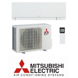 Klimatska naprava MITSUBISHI MSZ-EF25VEW/MUZ-EF25VEH Bela + montaža na ključ z nosilnimi konzolami