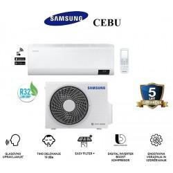 Klimatska naprava SAMSUNG AR12TXFYAWKNEU/AR12TXFYAWKXEU CEBU + montaža na ključ z nosilnimi konzolami!