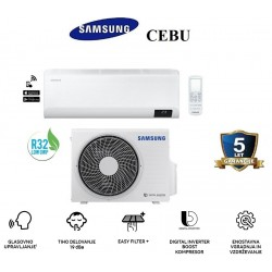 Klimatska naprava SAMSUNG AR18TXFYAWKNEU/AR18TXFYAWKXEU CEBU + montaža na ključ z nosilnimi konzolami!