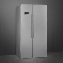 Ameriški hladilnik Side by Side SMEG SBS63XDF